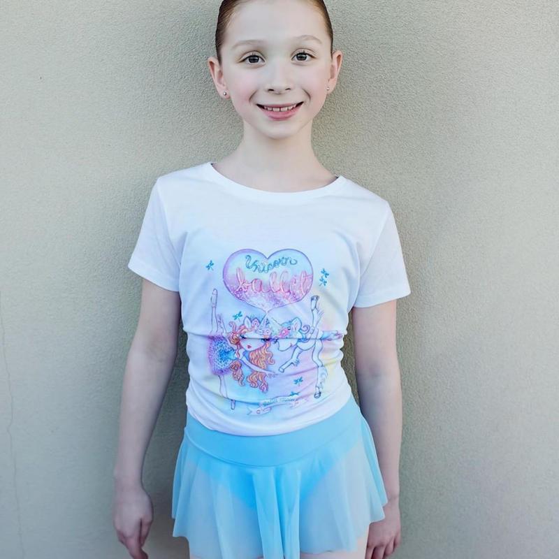 [Ballet Papier] T-SHIRT 'BALLET UNICORN'