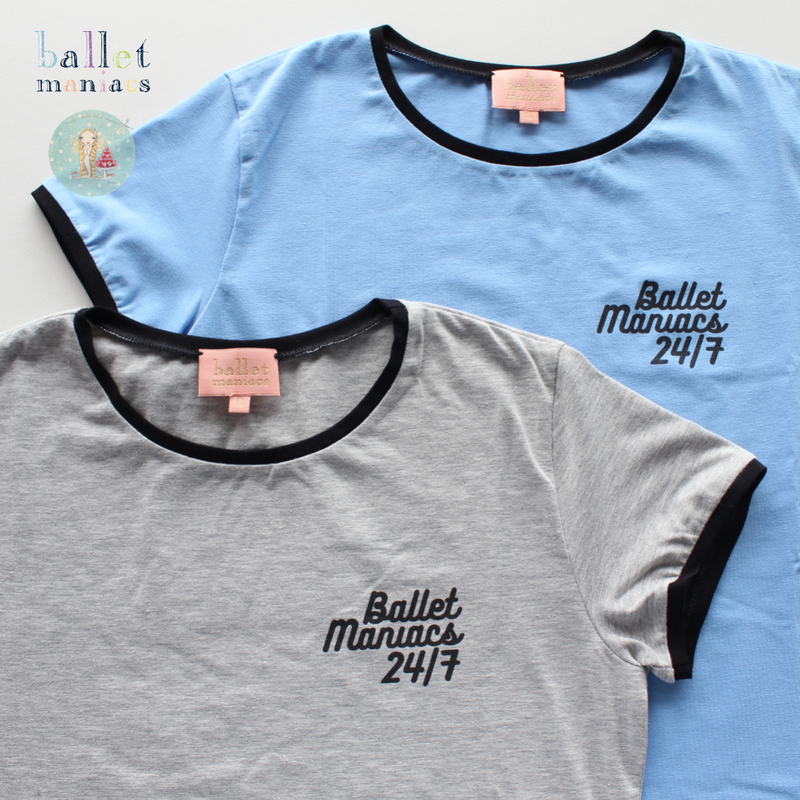 [Ballet Maniacs] T-shirt '24 hours / 7 days'