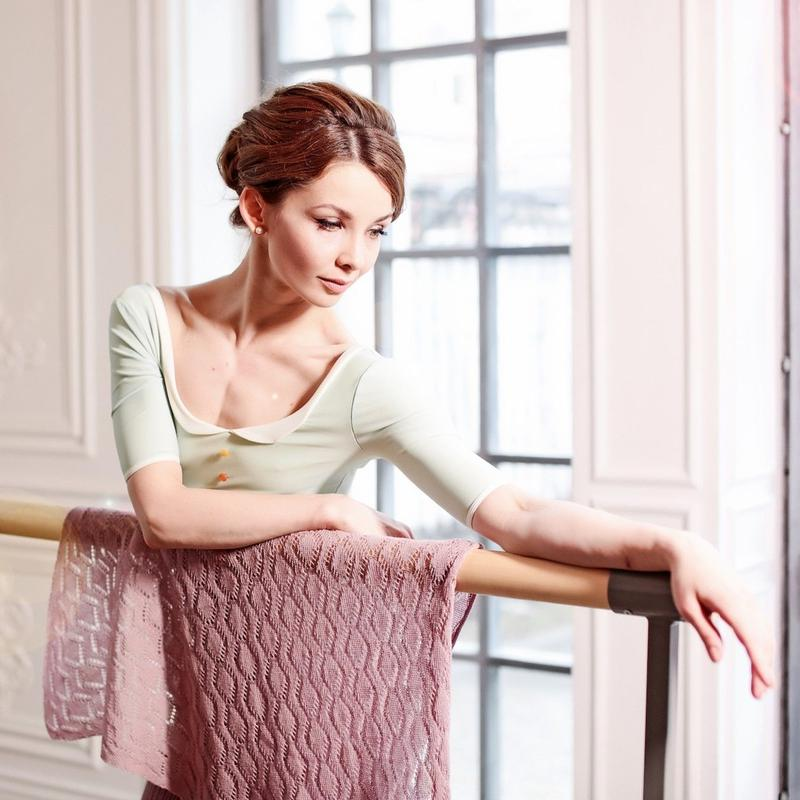 [Ballet Maniacs] Shawl by Evgenia Obraztsova Dusty Lilac