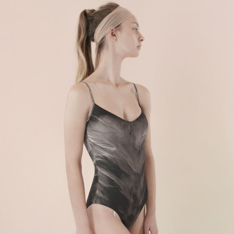 [Just A Corpse] SWAN – classic black leotard