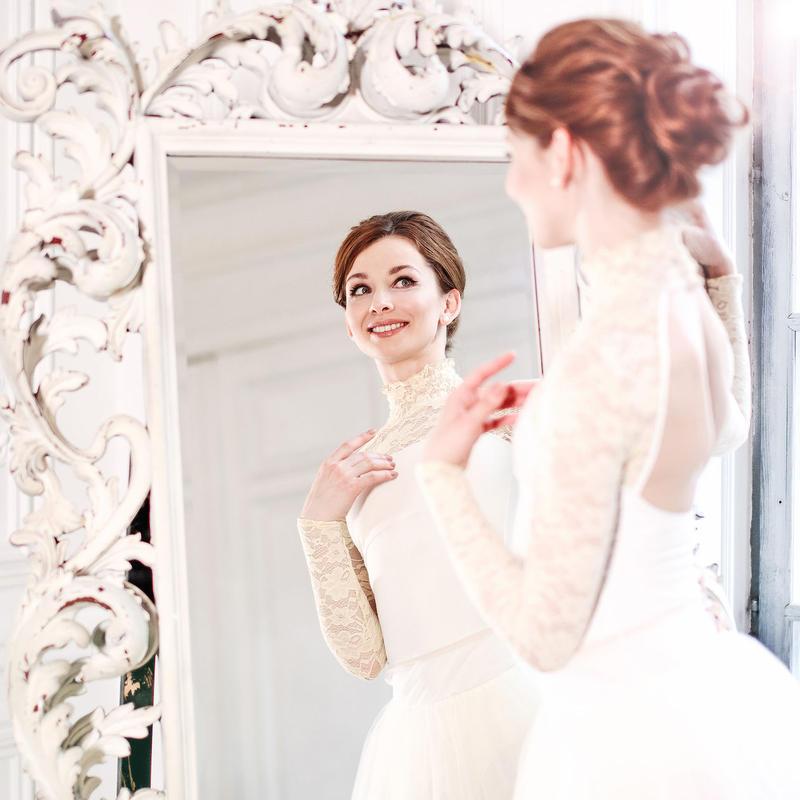 [Ballet Maniacs] Leotard Casta Diva by Evgenia Obraztsova Champagne