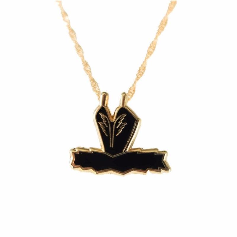 [The Ballet Bag] Black Swan Pendant