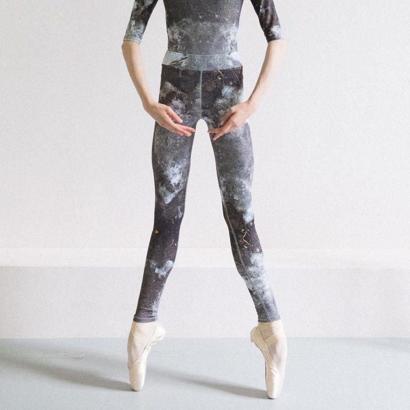 [Zi dancewear] Zigsi, stained with the print Mud
