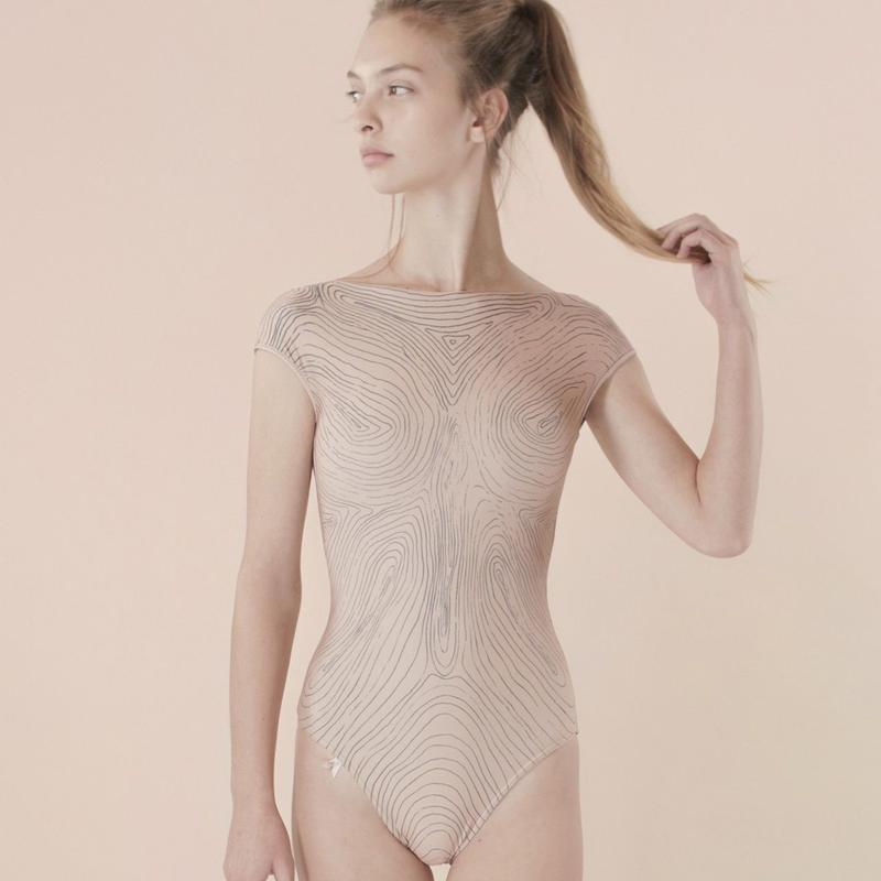 [Just A Corpse]  ISOLINE – nude backless leotard