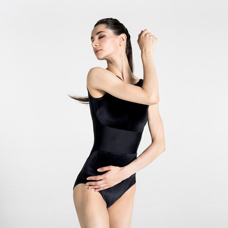 [Ballet Maniacs] Dream Leotard by Oxana Kardash! Black with Velvet