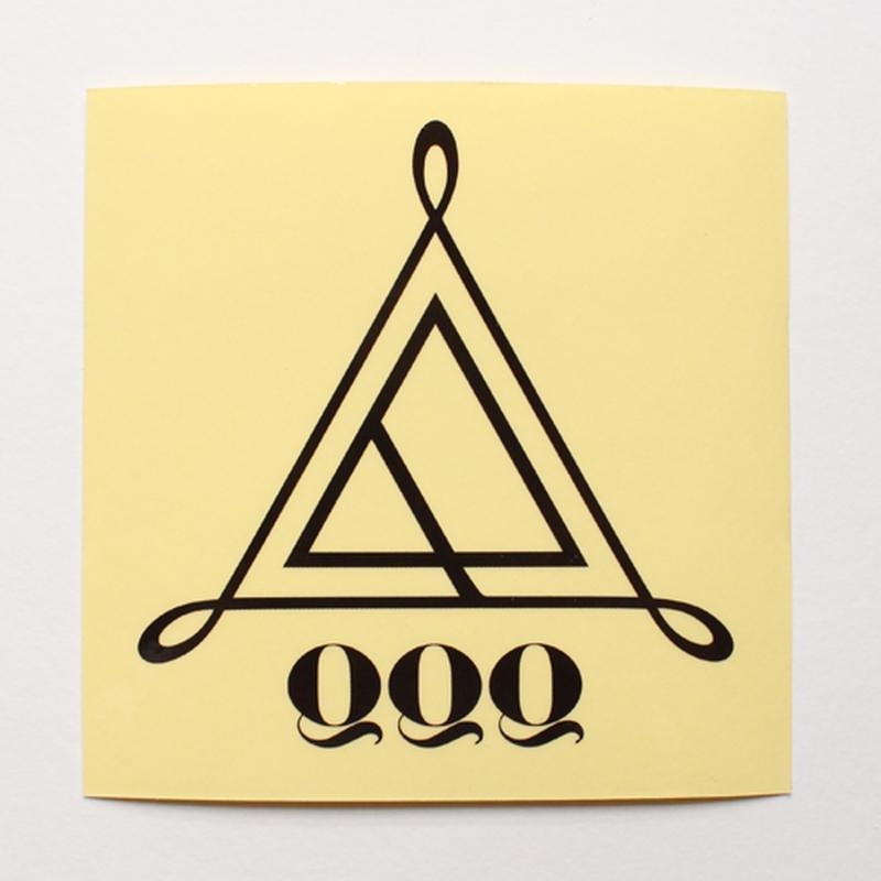 QQQ Logo sticker