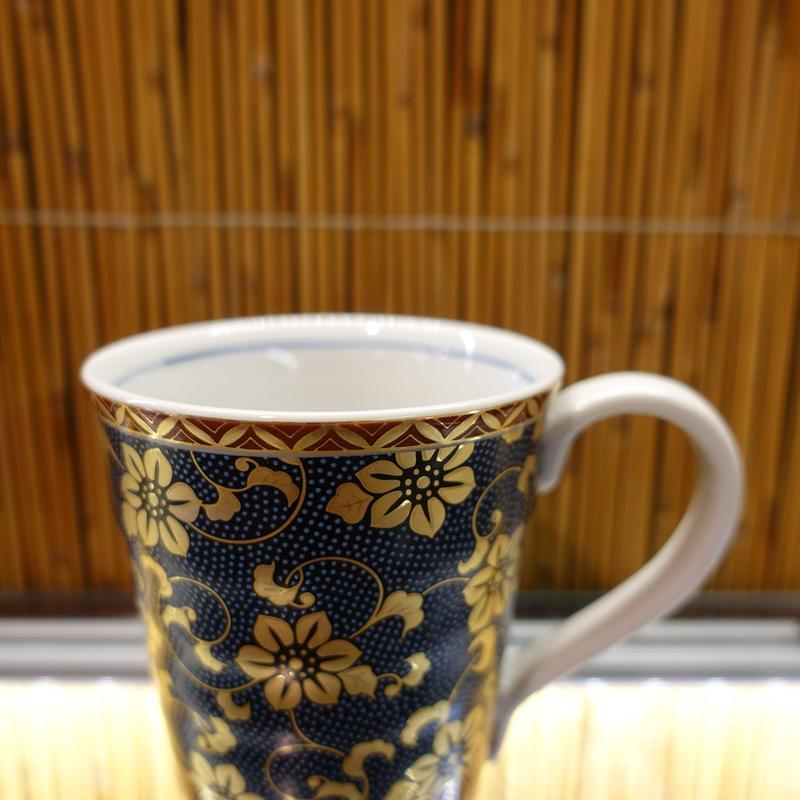 マグカップ(青粒鉄仙)