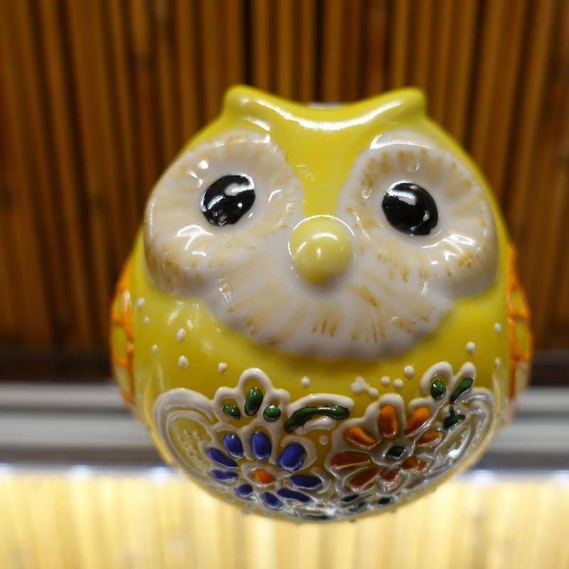 丸フクロウ(黄)