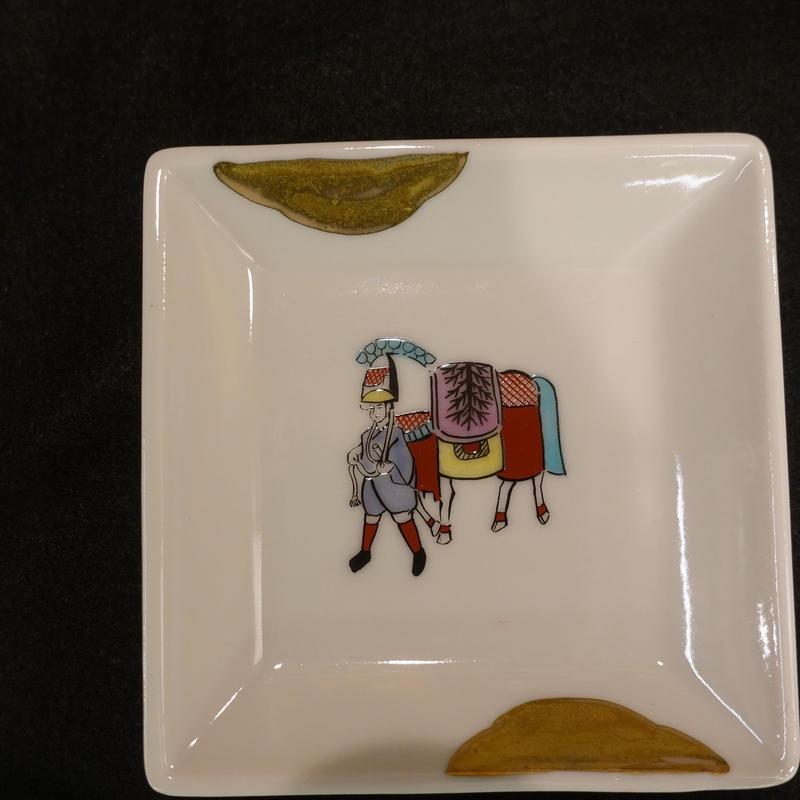 小皿(暁堂窯)