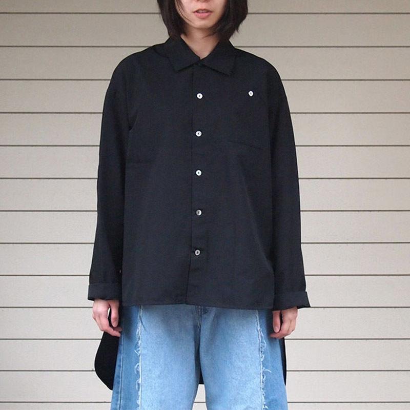 322-3004/箔プリントシャツ