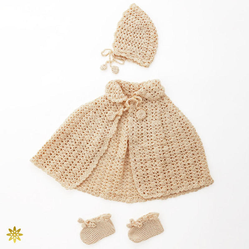 silk100% baby wear 3set