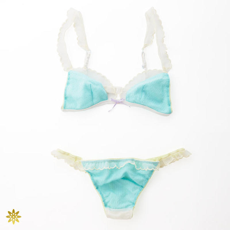 Silk natural dyeing lingerie