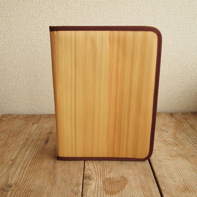 Albero100 タブレット クラッチバッグ(柾目)