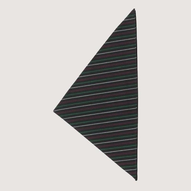 【イタリア製】コックスカーフ イタリア(イタリア国旗柄) 三角巾