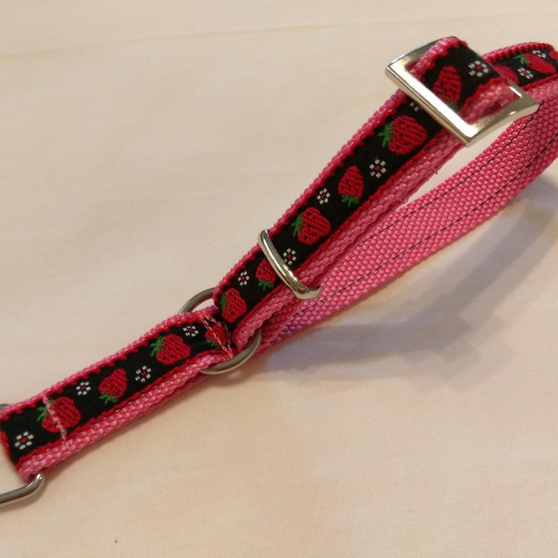 リミテッドチョークカラー(ピンク×黒イチゴ)Mサイズ