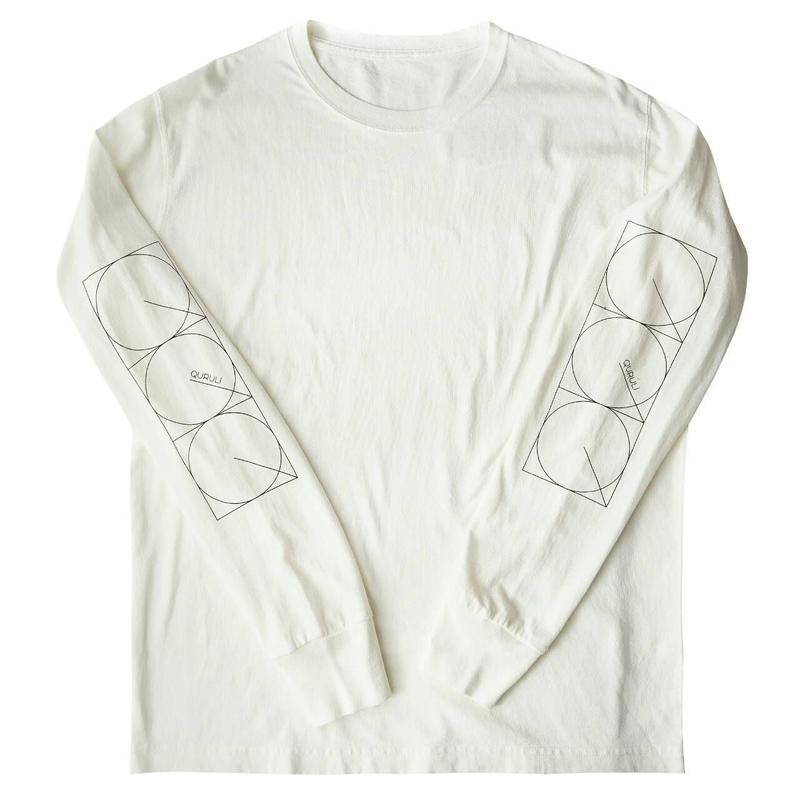 くるりライブツアー「線」Official Long T-Shirt(ヴィンテージホワイト)