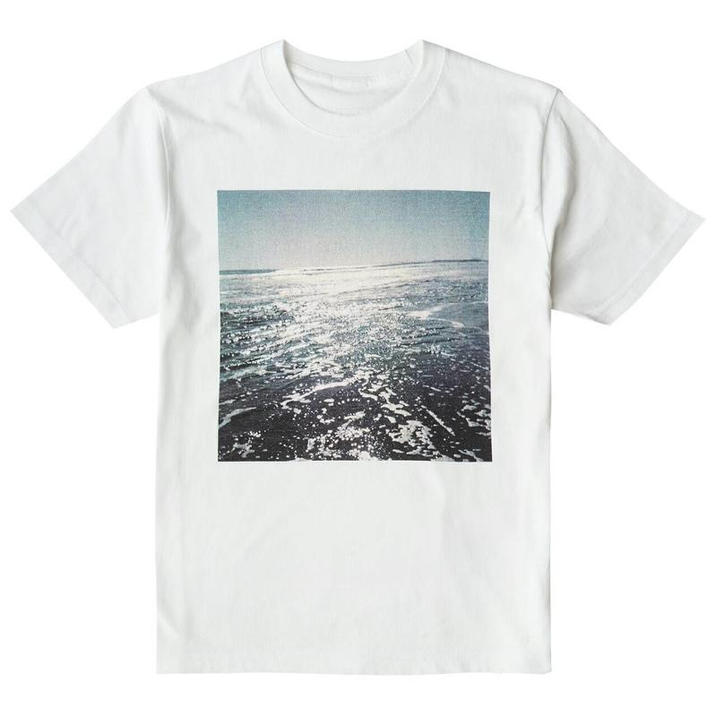 くるりライブツアー「線」水平線Photo T-Shirt