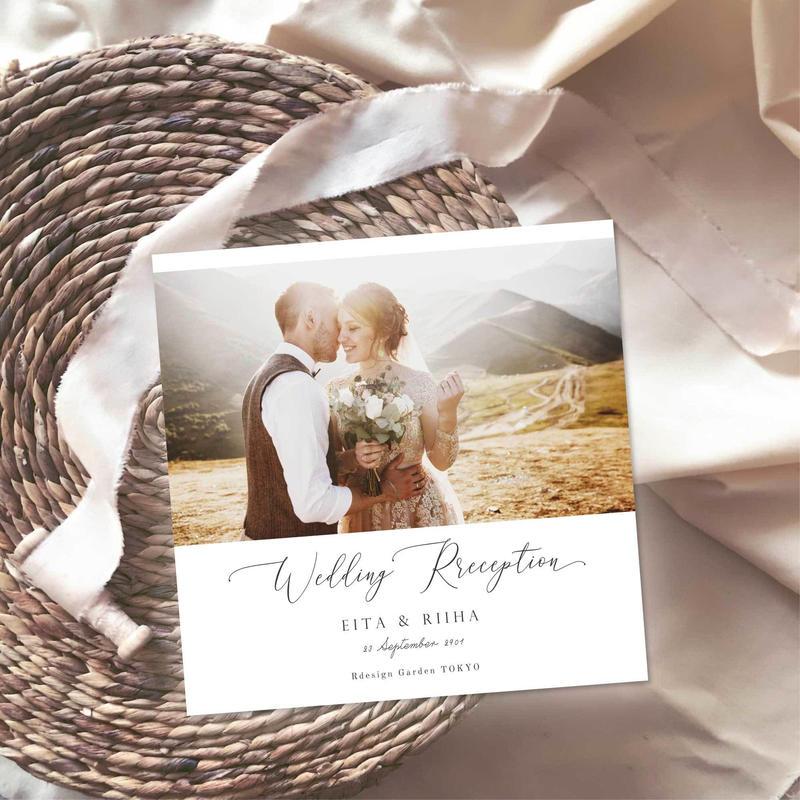 WEDDING BOOK8P/100種類のテンプレートから選べる