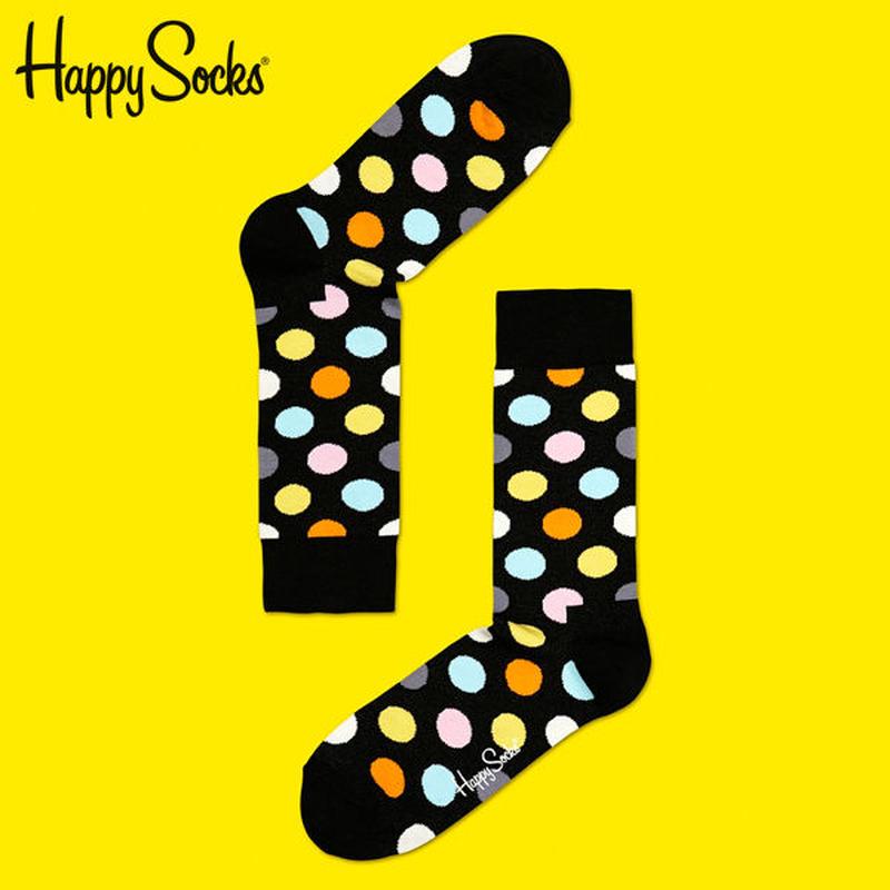 Happy Socks〈ハッピーソックス〉/ 靴下 ビッグドット【bd01099】