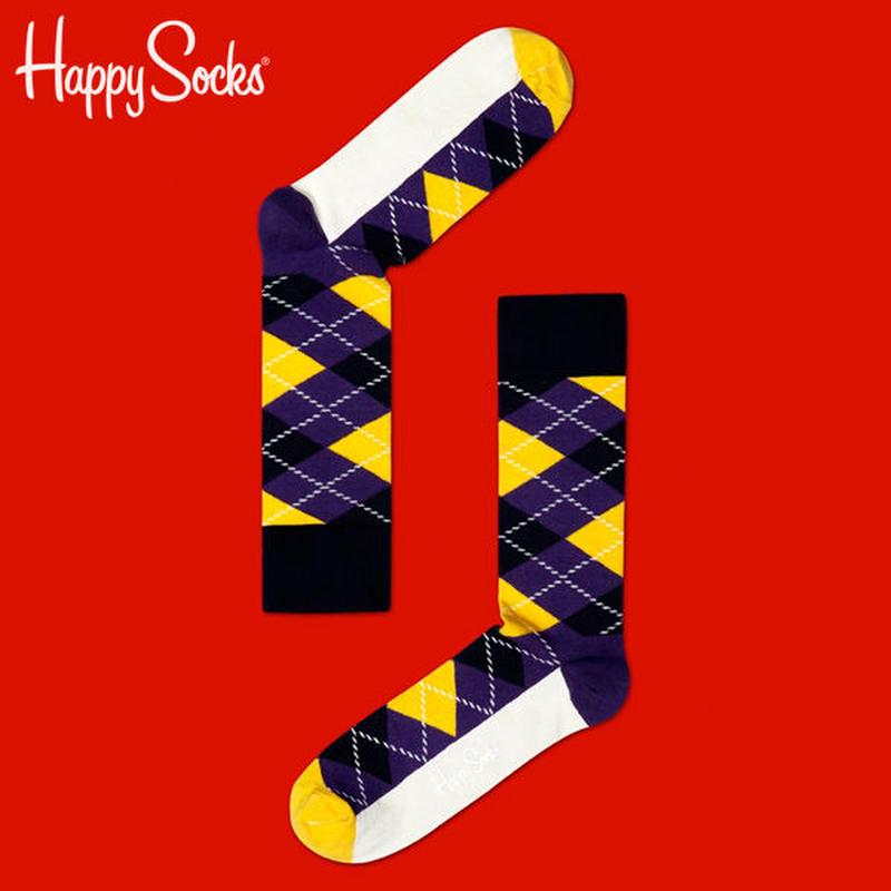 Happy Socks〈ハッピーソックス〉/ 靴下 アーガイル【ar12003】