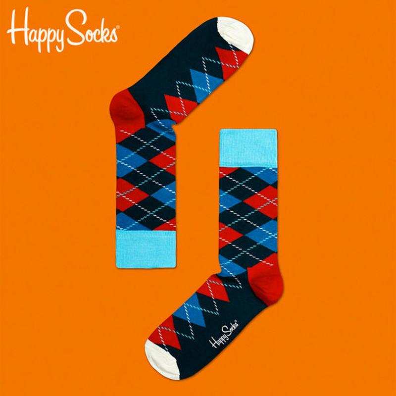 【SALE】Happy Socks〈ハッピーソックス〉/ 靴下 アーガイル【ar01065】