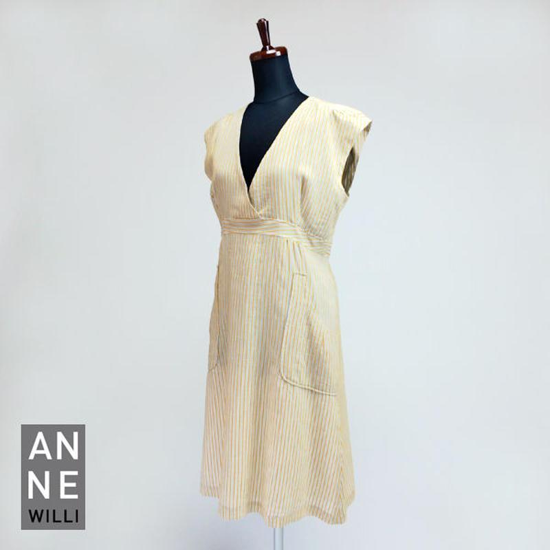 ANNE WILLI〈アンヌ・ウィリ〉/ ワンピース ドレス【NOISY Dress】