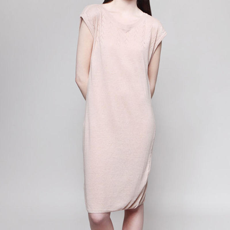 【SALE】MASKA〈マスカ〉/ ニットワンピース【VERA Eyelet Structure Dress】