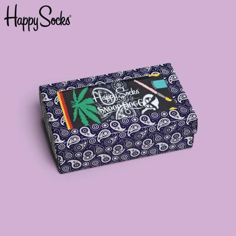 【SALE】Happy Socks〈ハッピーソックス〉/ 3足ボックスセット【XSDG08-650】