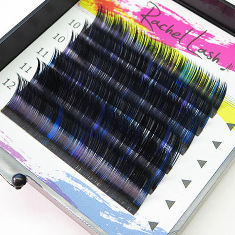 Universal Color Lash Mix C-Curl Size Mix (10-12mm)