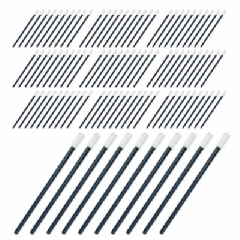 Diagonally cut swab 100pcs