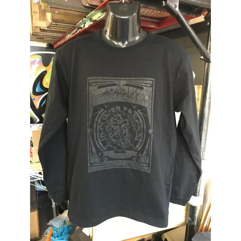 black×black   長袖Tシャツ