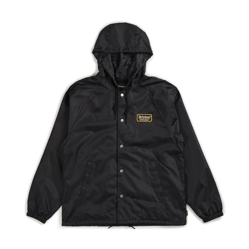 2018秋冬モデル ブリクストン【BRIXTON】PALMER HOOD JACKET   color : Balck / Gold