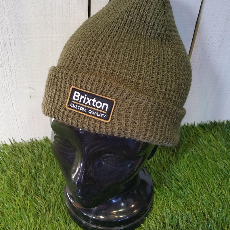 2018 CAP/HAT祭り! ブリクストン【BRIXTON】 PALMER BEANIE color:ARMY