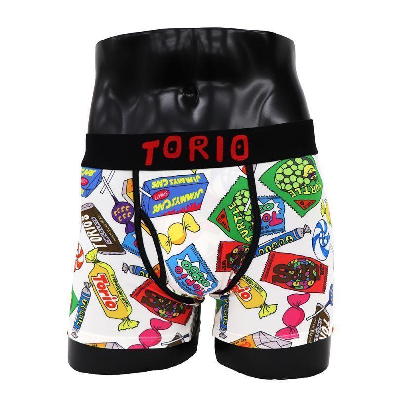 ちょっぴりエッチでポップなブランド【TORIO UNDERWEAR】おかし