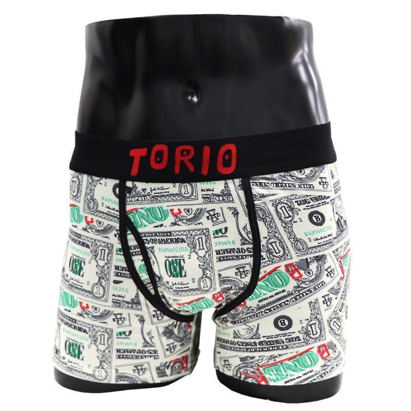 ちょっぴりエッチでポップなブランド【TORIO UNDERWEAR】ドル札