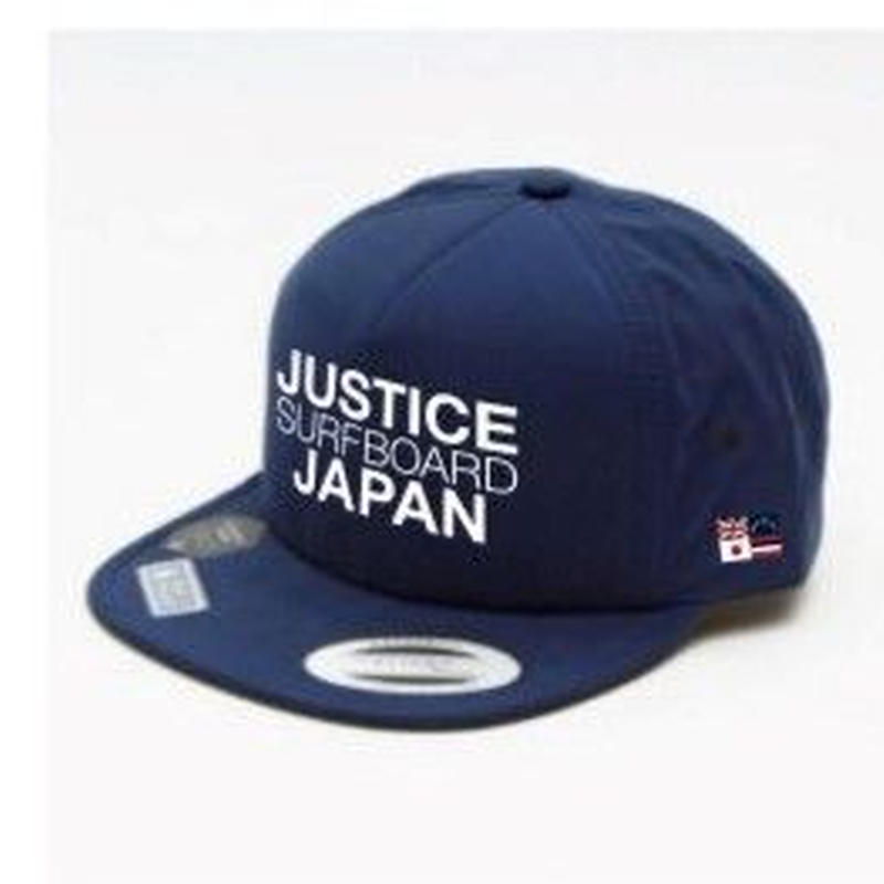 2019 NEW MODEL【JUSTICE】JAPAN LOGO FLEXFIT CAP    color : Navy x White