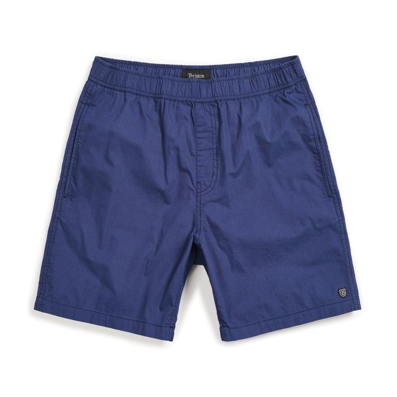 2019spring model  ブリクストン【BRIXTON】STEADY SHORT  color : PATRIOT BLUE