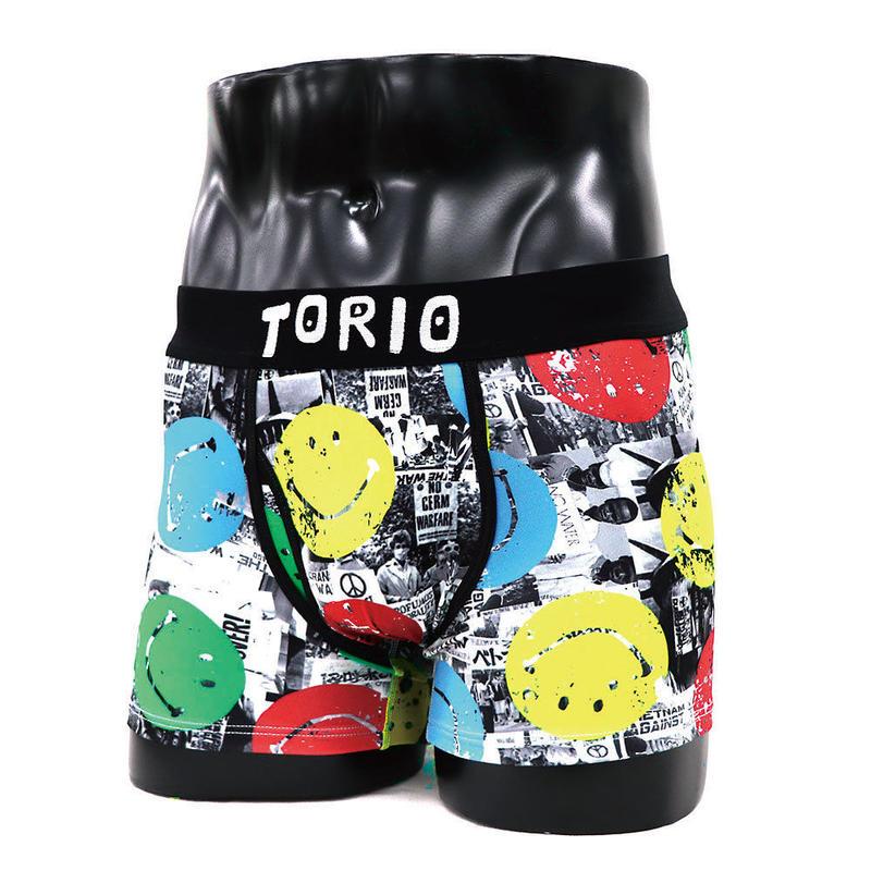 ちょっぴりエッチでポップなブランド【TORIO UNDERWEAR】スマイル