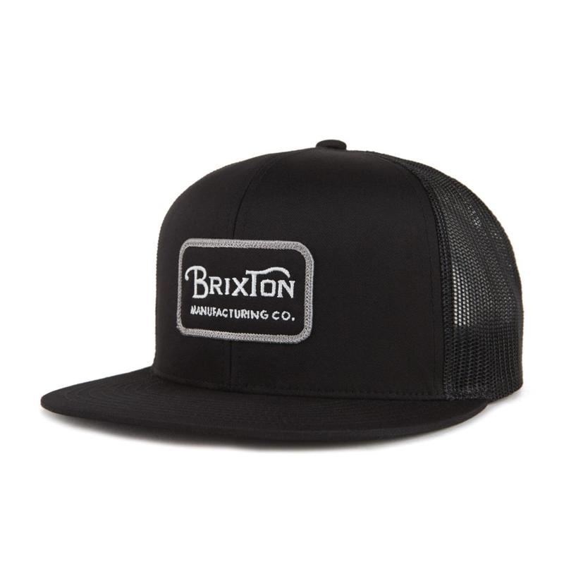 2018秋冬モデル ブリクストン【BRIXTON】GRADE MESH CAP  color : Grey / Black