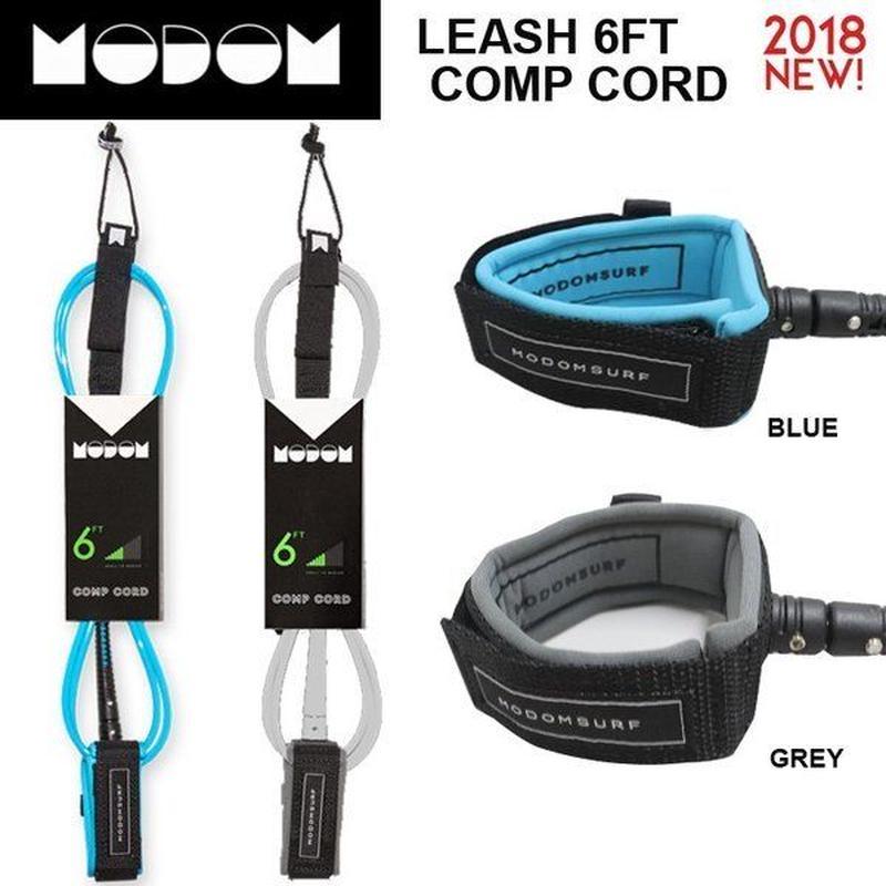 モドム【MODOM】LEASH モドムリーシュコード 6ft Comp  コンプ 6'0 ショートボード用リーシュコード/パワーコード