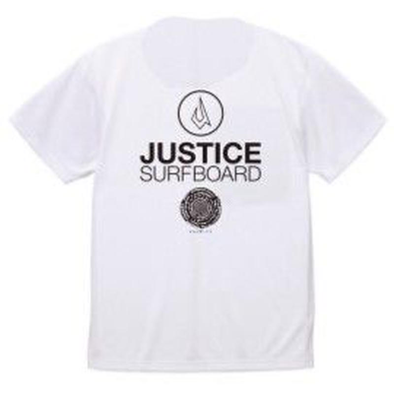 2019 NEW MODEL【JUSTICE】BASIC LOGO 6.5oz DRY-TEE  color : White