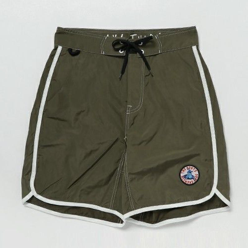 "【MAGIC NUMBER】""SURF GREMLIN""BOARD SHORTS  color:Olive"