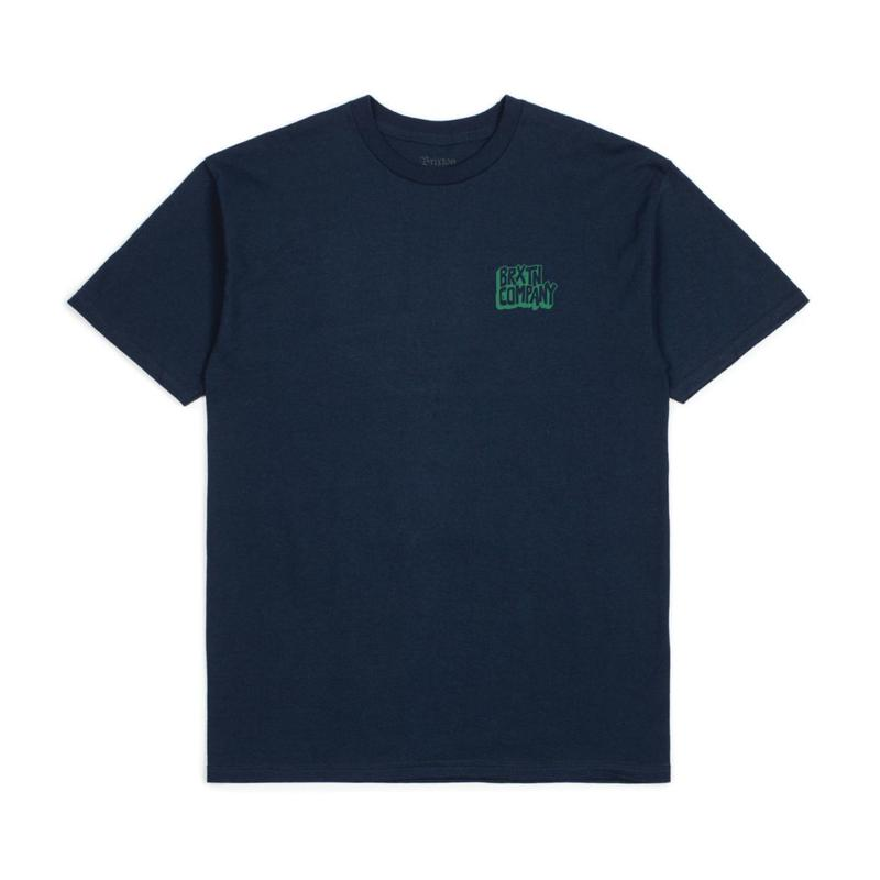 2019spring model  ブリクストン【BRIXTON】INTAKE S/S STANDARD TEE  color : NAVY