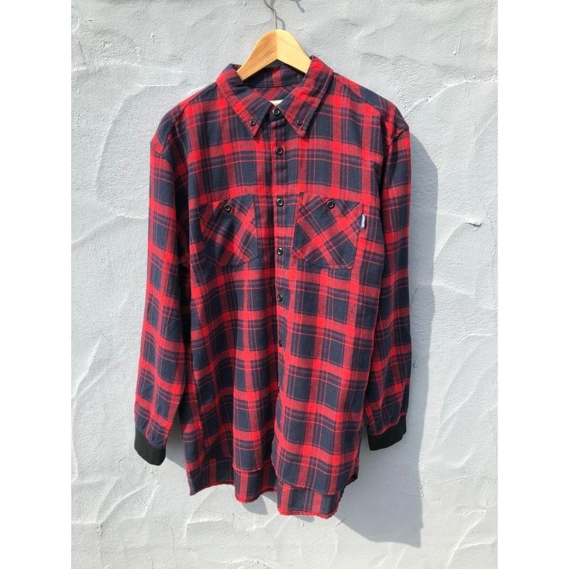 2018FWモデル マジックナンバー【MAGIC NUMBER】FLANNEL CHECK SHIRTS