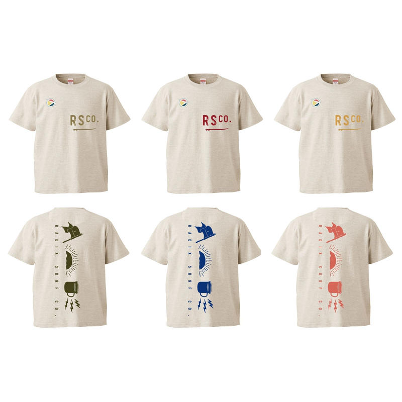冬のFINAL SALE!  SURF CAMP 【RADIX ORIGINAL】SURF CAMP KIDS TEE  Design A