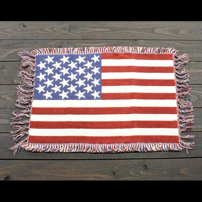 USAマット ノーマルマット 星条旗 ホワイト