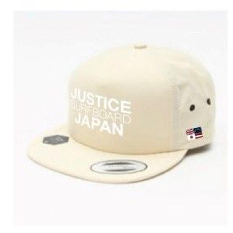 2019 NEW MODEL【JUSTICE】JAPAN LOGO FLEXFIT CAP    color : White x White