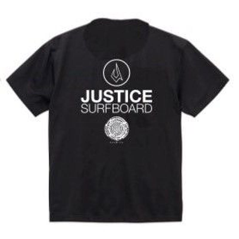 2019 NEW MODEL【JUSTICE】BASIC LOGO 6.5oz DRY-TEE  color : Black