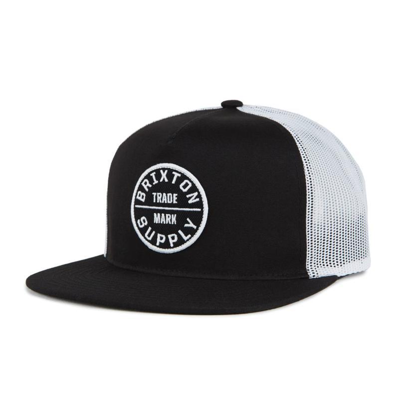 2019spring model  ブリクストン【BRIXTON】OATH III MESH CAP  color : Black