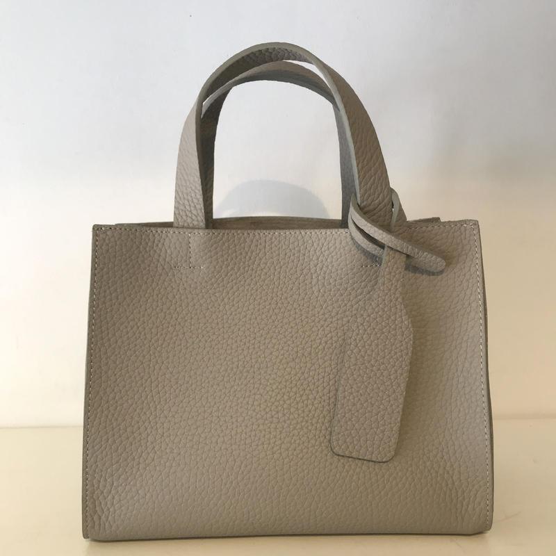 3pocket牛革bag/Grey